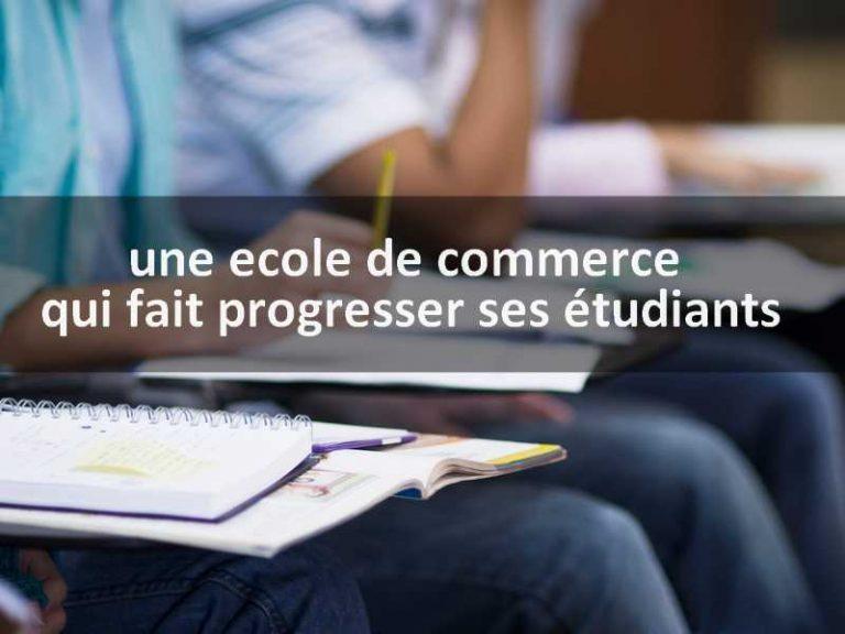 IDRAC Business School, une ecole de commerce qui fait progresser ses étudiants