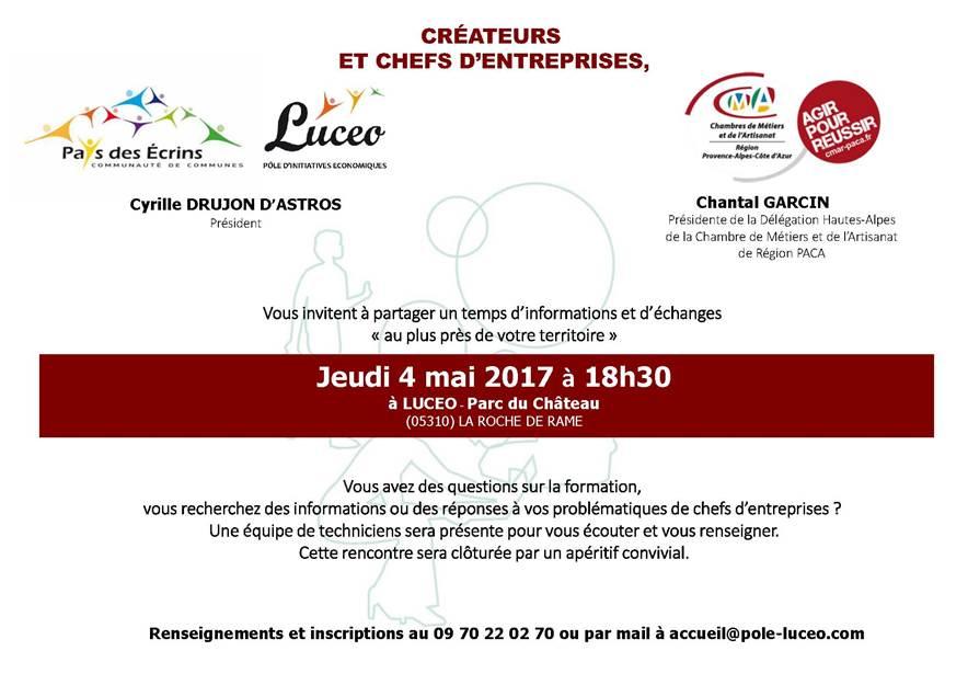 invitation presse – Communauté de communes du Pays des Ecrins
