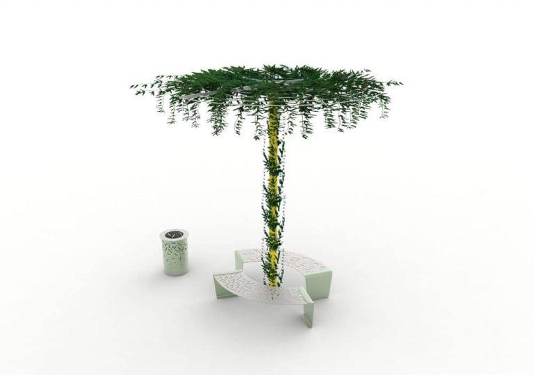 Trouver un mobilier urbain banc pour les espaces publics