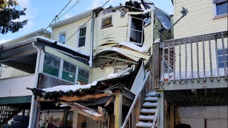 Que faire en cas d'effondrement de la toiture ?