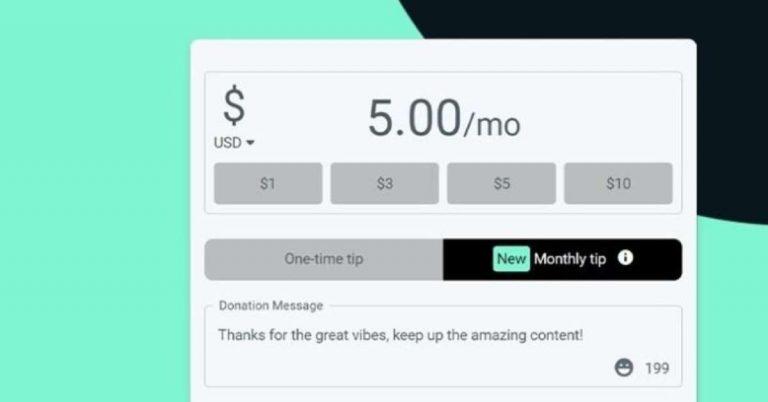 Streamlabs publie une fonction d'abonnement qui paie 100% du montant des streamers   Apps and Software